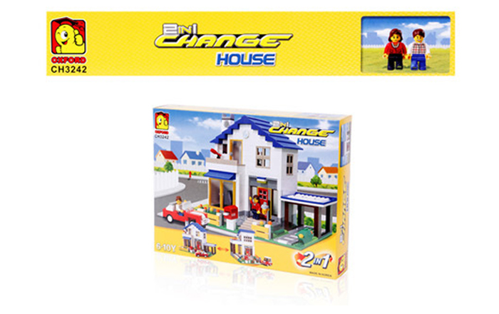 Oxford-Lego-Style-Kids-Block-Toy-Change-House-CH3242