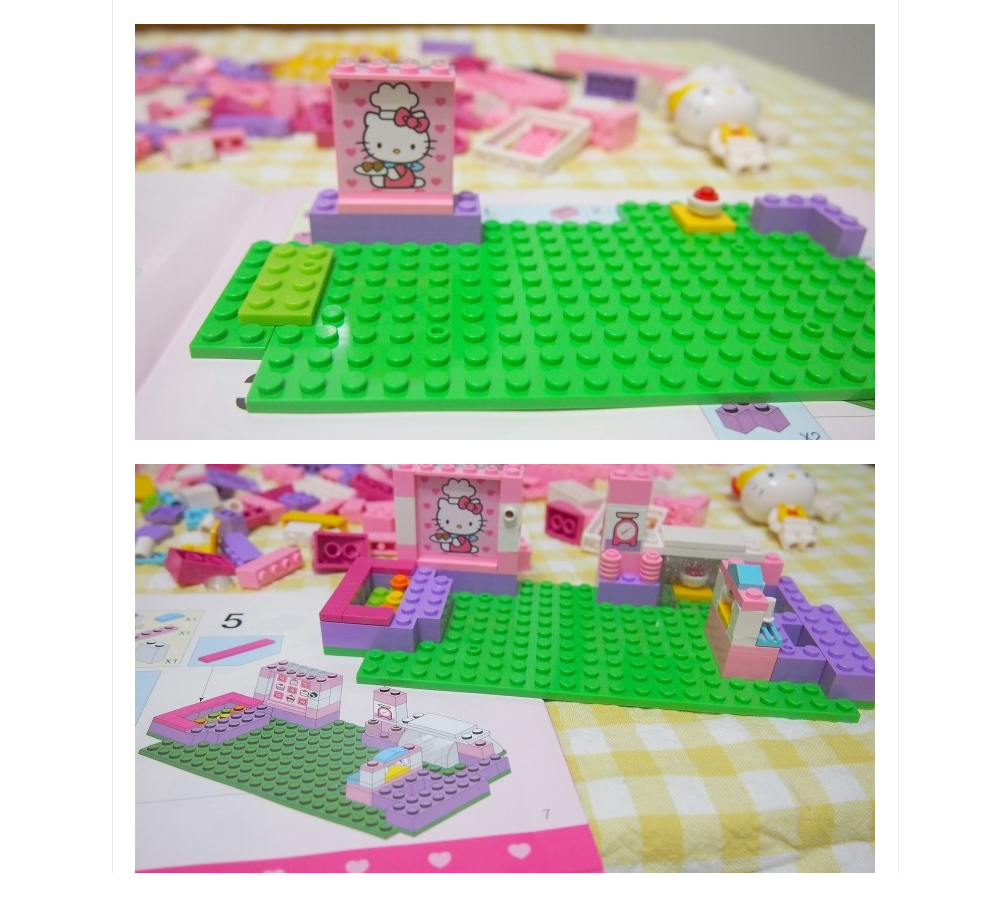 Oxford-Lego-Style-Kids-Block-Toy-Hello-Kitty-Bakery-HK3017