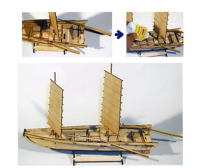 Wooden-Model-Ship-Kits-Junior-Series-Scale-models-Korea-Ship-2