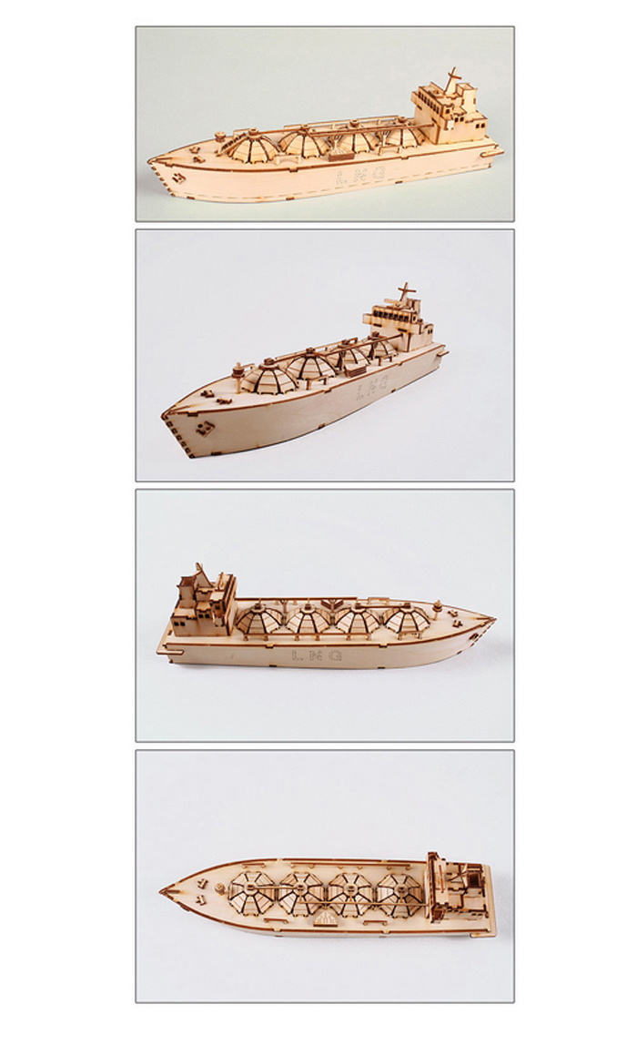 Wooden-Model-Ship-Kits-Junior-Series-Scale-models-Moss-LNG-Carrier