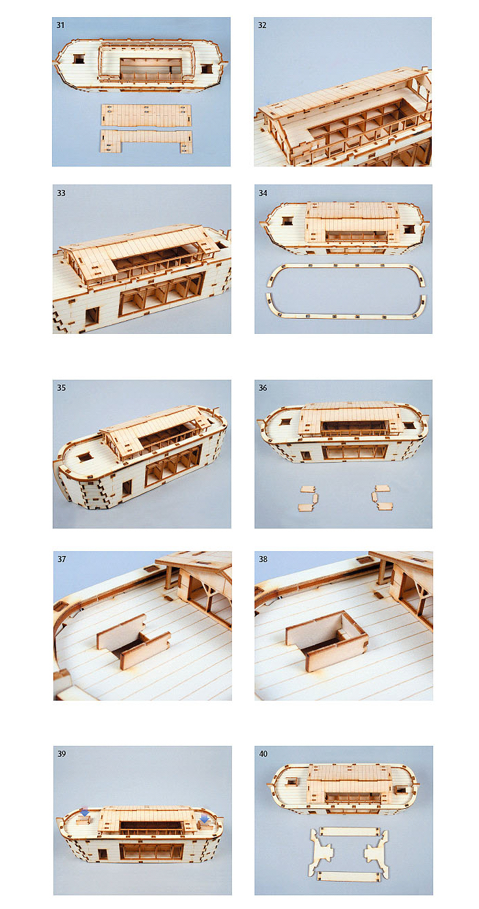 Wooden-Model-Ship-Kits-Junior-Series-Scale-models-Noahs-Ark-Junior